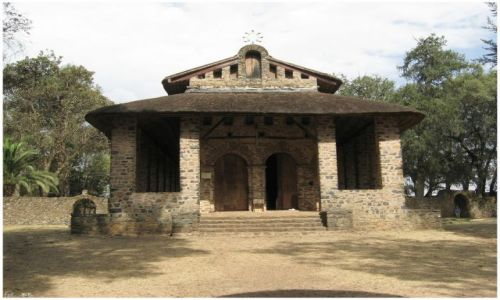 Zdjecie ETIOPIA / Etiopia Północna / Gondar/Gonder / Kościół Debre Berhan Selassie