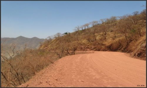 Zdjecie ETIOPIA / Etiopia Północna / prowincja Tigre - między Adi Arkay a Shire / Czerwona droga
