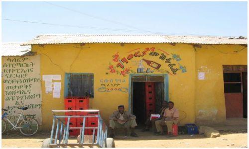 Zdjecie ETIOPIA / Etiopia Północna / prowincja Tigraj - między Axum i Adigrat / Kolorowe miasteczko