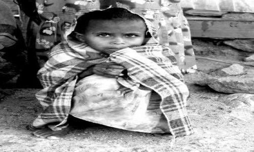 Zdjęcie ETIOPIA / północna Etiopia / wioska  / ***