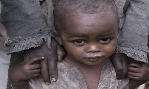 Zdjęcie ETIOPIA / środkowa Etiopia /  napotkany po drodze  / ***