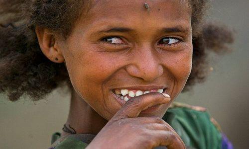 Zdjecie ETIOPIA / brak / północna Etiopia / Radość
