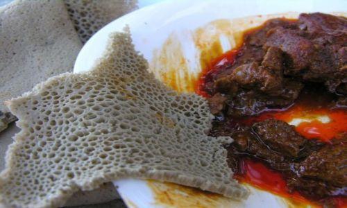 Zdjęcie ETIOPIA / brak / Gondar / Chleb powszedni - Injera
