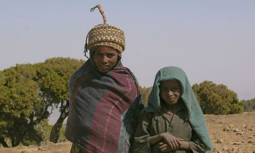 Zdjecie ETIOPIA / Północna Etiopia / Siemen Mountains / 1