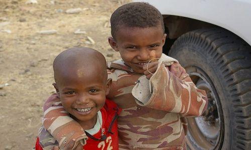 Zdjecie ETIOPIA / Północna - środkowa Etiopia / Axum / Grunt to optymizm