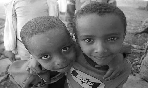 Zdjecie ETIOPIA / Północna - środkowa Etiopia / Gonder / Czy te oczy mogą kłamać?