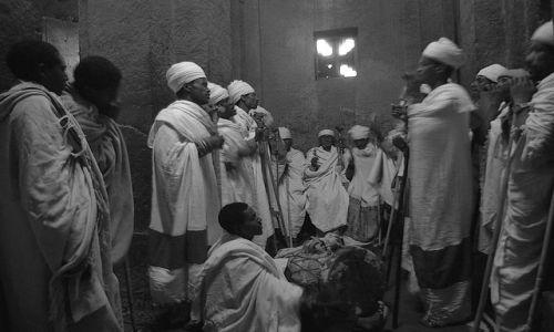 ETIOPIA / Północna - środkowa Etiopia / Lalibella  / Ekstaza