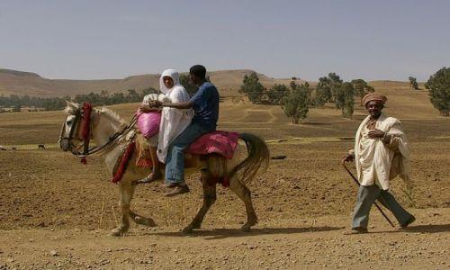 Zdjęcie ETIOPIA / Północna - środkowa Etiopia / Północna Etiopia gdzieś po drodze / Na nowej drodze życia