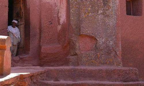 ETIOPIA / Północna - środkowa Etiopia / Lalibela / Kościół Bet Gabriel Rafael