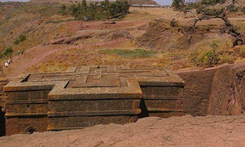 Zdjecie ETIOPIA / Północna - środkowa Etiopia / Lalibela / Najbardziej wyr