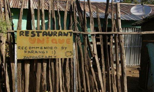 Zdjecie ETIOPIA / Północna - środkowa Etiopia / Lalibela / Kulinarne zaskoczenie