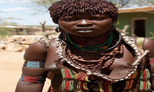 Zdjęcie ETIOPIA / Dolina Omo / Turmi / Hamerka