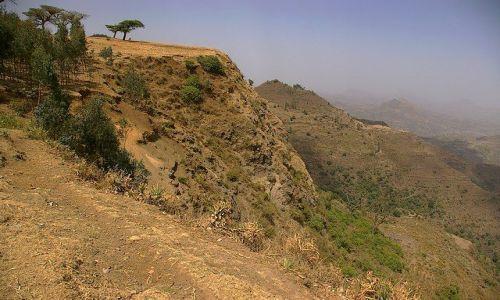 Zdjecie ETIOPIA / Północna Etiopia / Siemen Mountains / Jak na Cabo Verde ale bez Atlantyku u poodnóża