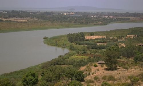 Zdjecie ETIOPIA / Północna Etiopia / gdzieś po drodze / Nil Błękitny i widok na największe etiopskie jezioro Tana