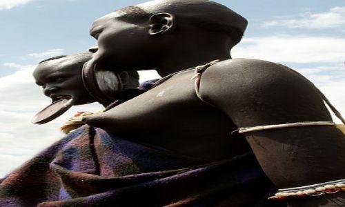 Zdjęcie ETIOPIA / Dolina Omo / Jinka / MURSI