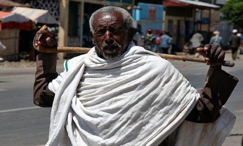 Zdjęcie ETIOPIA / Północna Etiopia / Debre Libanos / BAHIR  DAR