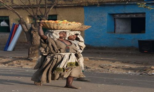 ETIOPIA / P�nocna Etiopia / Okolice Kombolchy / LALIBELA - KOMBOLCHA - ADIS ABEBA
