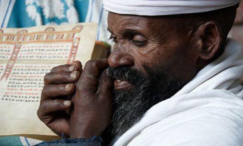 Zdjęcie ETIOPIA / Północna Etiopia / Lalibela / LALIBELA - KOMBOLCHA - ADIS ABEBA