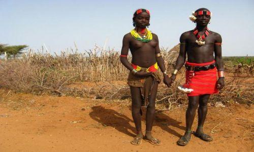 Zdjęcie ETIOPIA / brak / Turmi / Para Hamerów