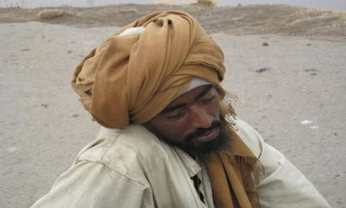 Zdjecie ETIOPIA / Etiopia pólnocna / Lalibela / Mężczyzna z Lalibeli