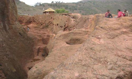 Zdjecie ETIOPIA / Etiopia północna / Lalibela / Skalne kościoły Lalibeli