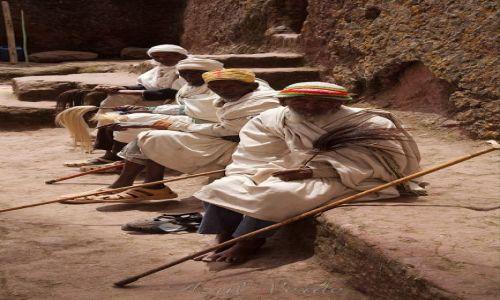 Zdjecie ETIOPIA / brak / Lalibela / Pielgrzymi