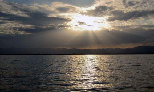 Zdjęcie ETIOPIA / pd. Etiopia / Jezioro Chamo, Nechisar Park / Zachód słońca nad jez. Chamo