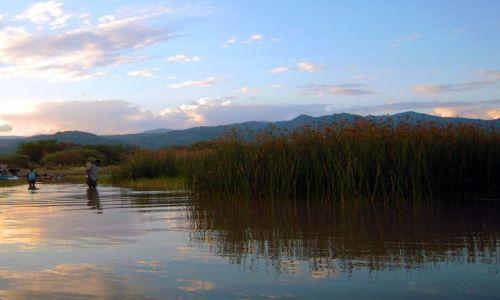 Zdjecie ETIOPIA / pd. Etiopia, Nechisar National Park / Jezioro Chamo / Chamo Lake