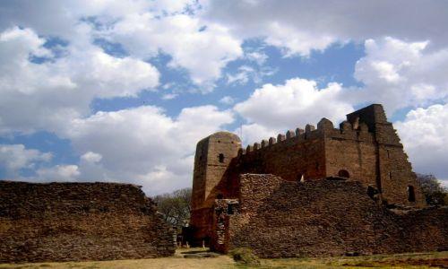 Zdjecie ETIOPIA / pn. Etiopia / Gonder / Ruiny pałacu Fasilidasa