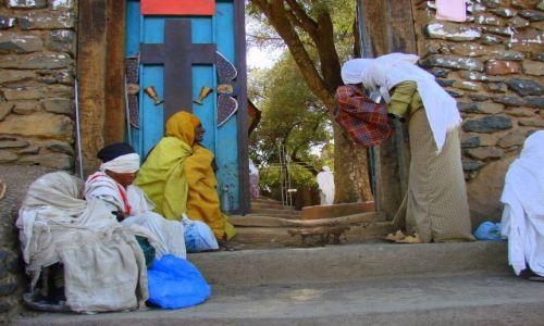 Zdjęcie ETIOPIA / Gandor / Gandor / Trędowaci