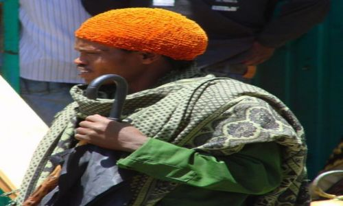 Zdjęcie ETIOPIA / Gangor / Gangor / beret