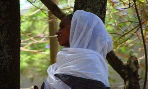 Zdjęcie ETIOPIA / Gangor / Gangor / Modlitwa