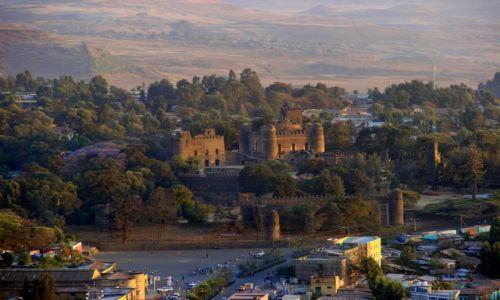 Zdjęcie ETIOPIA / Gandor / Gandor / Zamek