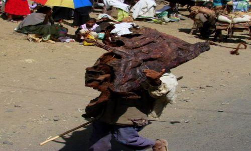 Zdjęcie ETIOPIA / Gandor / Gandor / Jedzenia na rok