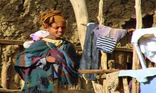 Zdjęcie ETIOPIA / Deborg / Deborg / Pranie