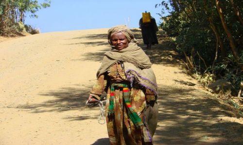 Zdjęcie ETIOPIA / Debarg / Debarg / Droga
