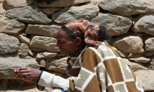 Zdjęcie ETIOPIA / Debork / Debork / Kamienie