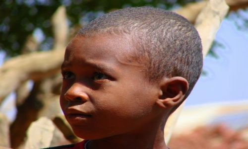 Zdjęcie ETIOPIA / Abuna  Jomata / Abuna  Jomata / Chłopiec