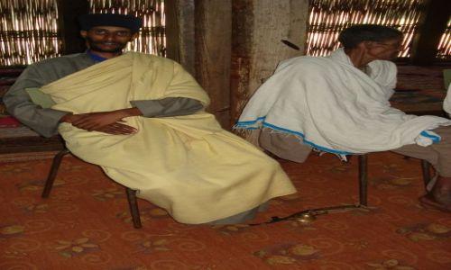 Zdjęcie ETIOPIA / Amhara / okolice Bahar Dar / półwysep Zege / Ksiądz