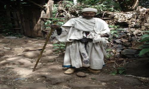 Zdjęcie ETIOPIA / Amhara / okolice Bahar Dar / pówysep Zege / Portret