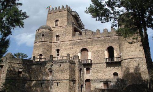 Zdjęcie ETIOPIA / Amhara / Gonder / Zamek w Gonderze