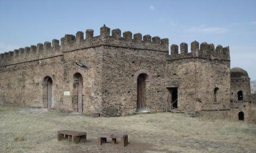 Zdjęcie ETIOPIA / Amhara / Gonder / Zamek