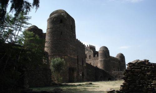 Zdjecie ETIOPIA / Amhara / Gonder / Ostatni zamek na dziś