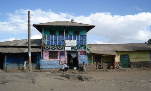 Zdjęcie ETIOPIA / Amhara / Debark / Africa hotel