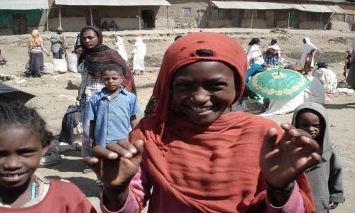Zdjęcie ETIOPIA / Amhara / Debark / Na targu