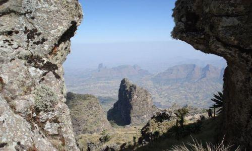 Zdjecie ETIOPIA / Amhara / Imet Gogo/ Simien / Panoramy Simien
