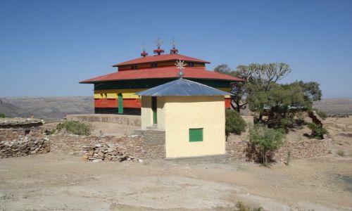Zdjecie ETIOPIA / Tigray / Debre Damo / Dolny kościół