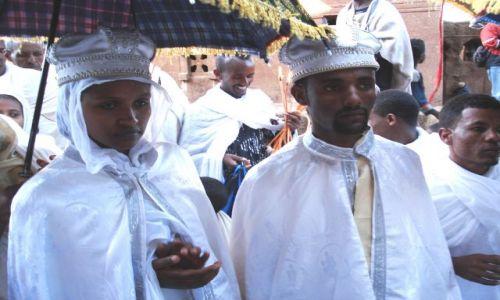 Zdjecie ETIOPIA / Amhara / Lalibela / Państwo młodzi