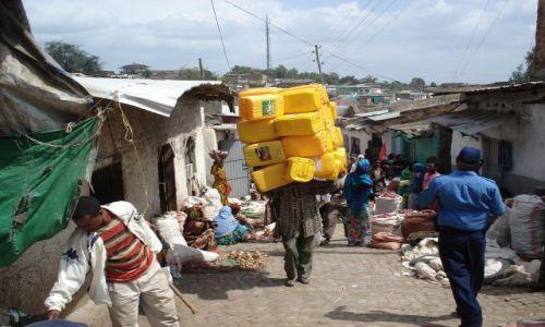 Zdjecie ETIOPIA / Harari / Harar / Z cyklu: mistrzowie logistyki