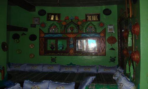 Zdjecie ETIOPIA / Harari / Harar / Wnętrze domu jemeńskiego